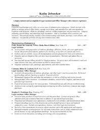 Resume Legal Assistant Examples Najmlaemah Com