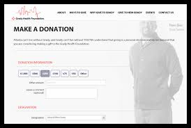 Sample Donation Form The Top 10 Most Effective Donation Form Optimizations You