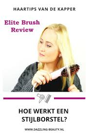 Elite Brush Review Dazzling Beauty Blog Diy Hairstyles Hair En