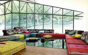 roche bobois floor cushion seating. Bright Sofa Design By Roche Bobois Floor Cushion Seating