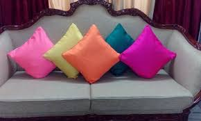 Raw Silk Pillow Covers