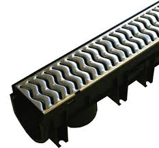 galvanised drainage channel x1m a15