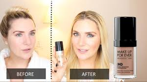 makeup forever ultra hd invisible cover foundation first impressions review