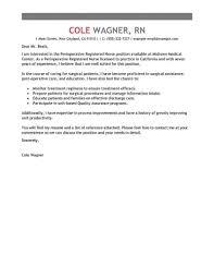 Application Letter Format Nursing Job Copy Best Operating Room
