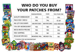 Makingfriends Com Scout Patches Badge In A Bag Kits Kids