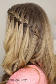 Hairstyle Waterfall how to do a waterfall braid 5472 by stevesalt.us