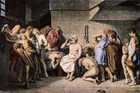 Image result for socrates cup of poison
