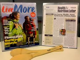 the covers of the john han vitality magazine and the tufts health and nutrition letter on