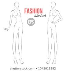 Body Template For Designing Clothes 1000 Fashion Figure Template Pictures Royalty Free Images Stock