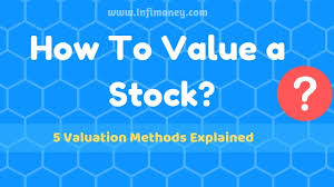 How To Value A Stock 5 Valuation Methods Explained