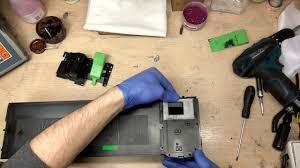 Заправка картриджа <b>Sharp AR</b>-016 // <b>Cartridge</b> refill <b>Sharp AR</b>-016