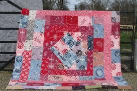 Double Sided Patchwork Quilt | Jen Jones welsh Quilts and Blankets & Vibrant Double-sided Patchwork Quilt Adamdwight.com