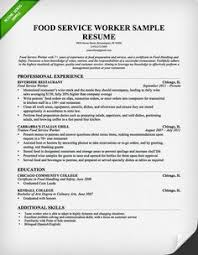 food service resume food service worker resume template for free download free samples examples food service cover letter