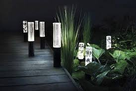 metal solar landscape lighting