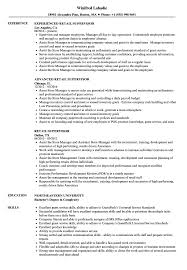 Good Resume Examples Retail Retail Supervisor Resume Samples Velvet Jobs