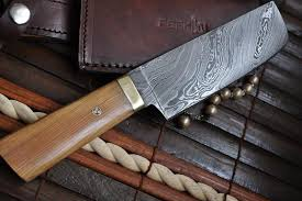 NOW ON SALE  CHEF KNIFE  DAMASCUS KNIFE BY PERKIN KNIVES  PerkinKitchen Knives For Sale