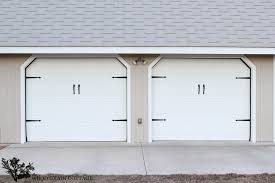 cottage garage doorsHow To Paint Garage Doors Project Curb Appeal  The Wood Grain