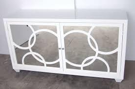 400 Series White Lacquer Storage Cabinet