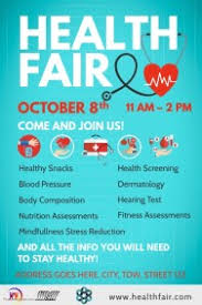 Health Fair Flyers Health Fair Poster Template Rome Fontanacountryinn Com