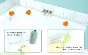 bathtub silicone caulk remove mold from silicone sealant how to remove mold mould from silicone sealant