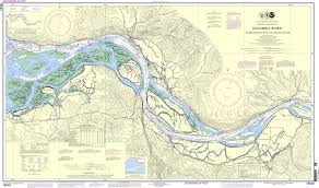 Noaa Nautical Chart 18523 Columbia River Harrington Point