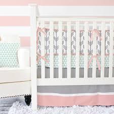 incredible mint c arrow crib bedding set caden lane arrow crib bedding set ideas