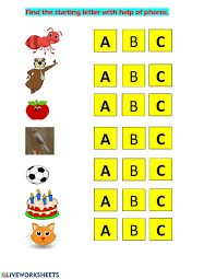 Use these phonics worksheets, videos, and flash cards to help your students practice the basics. English Phonic Practice Abc Worksheet