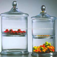 glass candy jar china glass candy jar