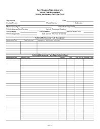 Vehicle Log Spreadsheet Spreadsheet Fleet Maintenance Template Vehicle Log Company Car Book