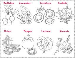 Small Picture Vegetable coloring pages for kids Enjoy Coloring Places to