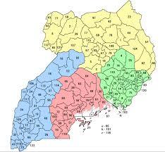 Distrikte von Uganda – Wikipedia