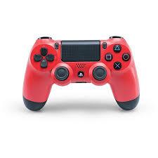 Sony Dualshock 4 Wireless Controller Magma Red Ps4 Walmart Com