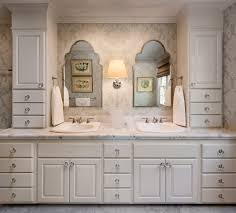 wall sconces for bathroom. Santa Barbara Marble Basketweave Floor With Nickel Wall Sconces Bathroom Traditional And Lighting Guest For