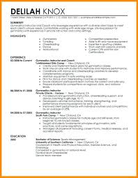 Resume Guide Personal Trainer Resume Samples Template