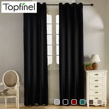 top finel modern solid velvet blackout curtains for living room bedroom luxury black out curtains thick