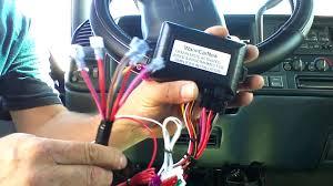 98 Chevrolet Suburban Semi plug and play remote start - YouTube