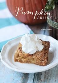 pumpkin crunch recipe landeelu the perfect fall recipe like pumpkin
