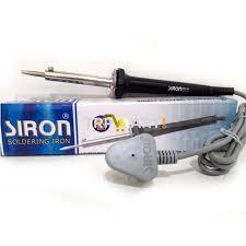siron soldering iron 60 watt soldering solder weld welding iron tool for diy projects hobby professional work 220v ac