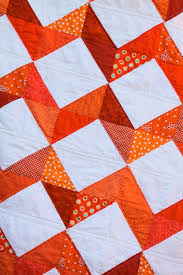 From Grandma with Love ~ Orange Chevron Quilt - The Cottage Mama & From Grandma with Love ~ Orange Chevron Quilt Adamdwight.com