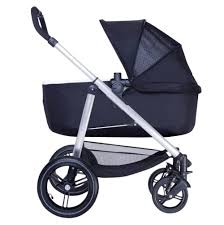 phil teds smart lux luxury compact stroller with bassinet side view get the  right bassinet stroller