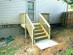 prefab outdoor steps deck how to make wooden steps prefab outdoor stair ideas stairs design and modular outdoor steps