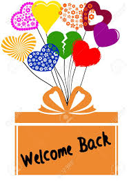 Welcome Back Graphics Stock Illustration