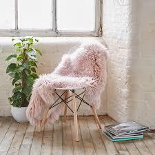 royal dream large sheepskin rug heavenly pink
