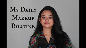 my daily makeup routine beauty on budget s simple quick easy priyanka you
