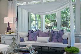 inside sunrooms. View In Gallery Relaxing Daybed Inside The Sunroom With A Splash Of Purple [Design: Debra Geller Interior Sunrooms