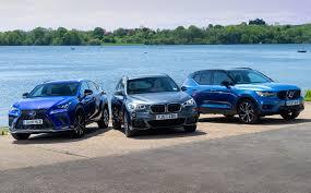 Lexus Suv Size Chart Suv Triple Test Hybrid Lexus Nx300h Vs Petrol Volvo Xc40 T5