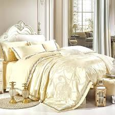 what is a sham bedding wedding luxury satin jacquard bedding sets queen king size duvet cover