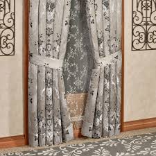 Wide Window Treatments alessandra smoke gray window treatment by j queen new york 8810 by xevi.us