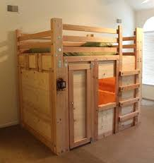 Kids Twin Mattress Amazing Of For Bunk Bed Queen Sized Fort With Rustic Bedroom  Source Reviews