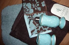 chocolate brown and turquoise rugs dark bathroom my web value accessories decor trendy looks tsc for living room red grey rug green white yellow area navy